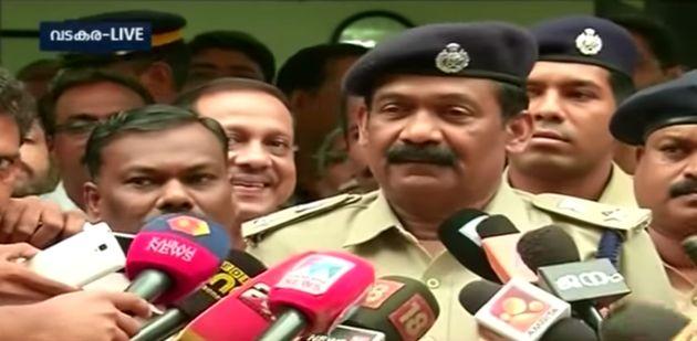KG Simon at a press interaction on the Koodathayi murder
