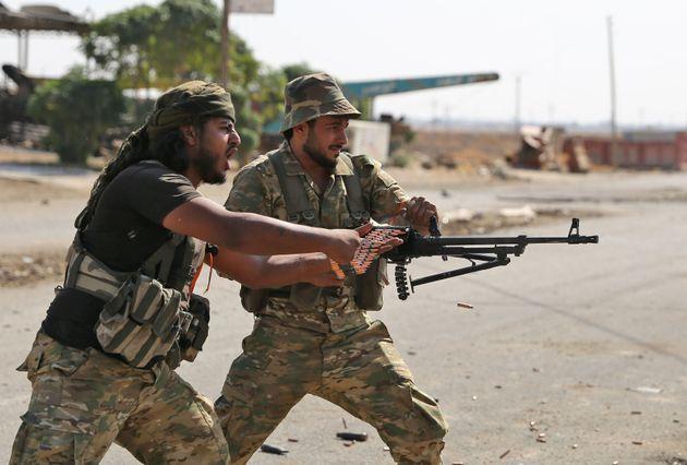Άνδρες της τουρκικής...