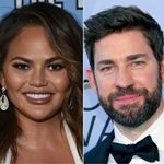 Chrissy Teigen's Wild Theory About Pam And Jim In 'The Office' Splits