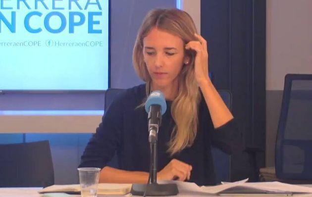 Álvarez de Toledo, en Cope: «Me cuesta disimular mi decepción con algunos aspectos de la