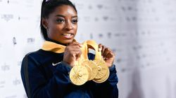 Simone Biles Owns Her G.O.A.T. Status With This Perfect