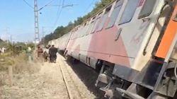 Déraillement d'un train près de la gare de