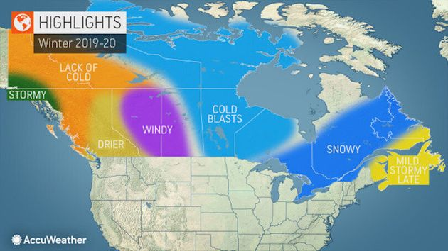 Canada Winter Forecast Predicts Stormy Weather In Ontario,