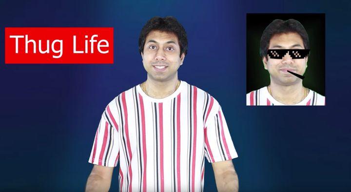 Awal Madan uses TikTok to teach people English.