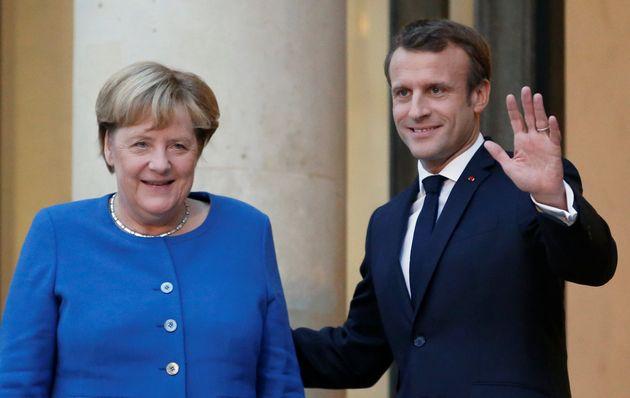 Macron et Merkel ensemble à Airbus pour envoyer un message
