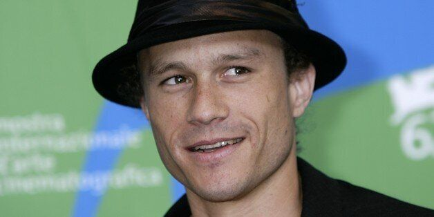 Heath Ledger at a photocall for the film 'I'm Not There', during the Venice Film Festival in Italy.