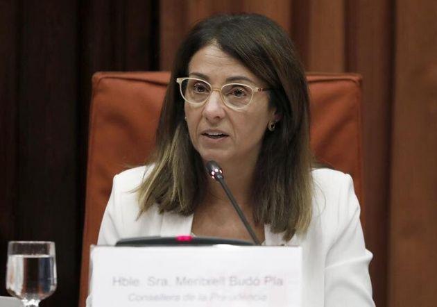 La consellera de la Presidencia, Meritxell