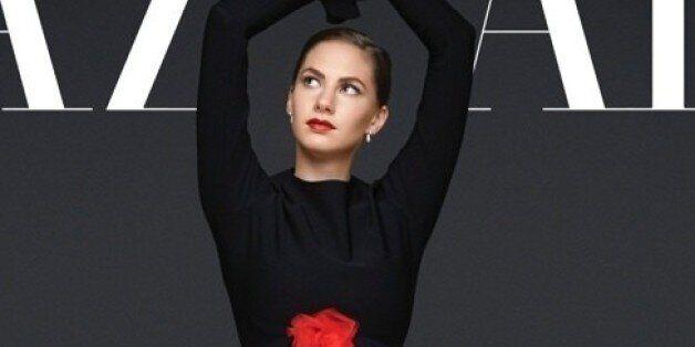 Audrey Hepburn's Granddaughter Covers Harper's