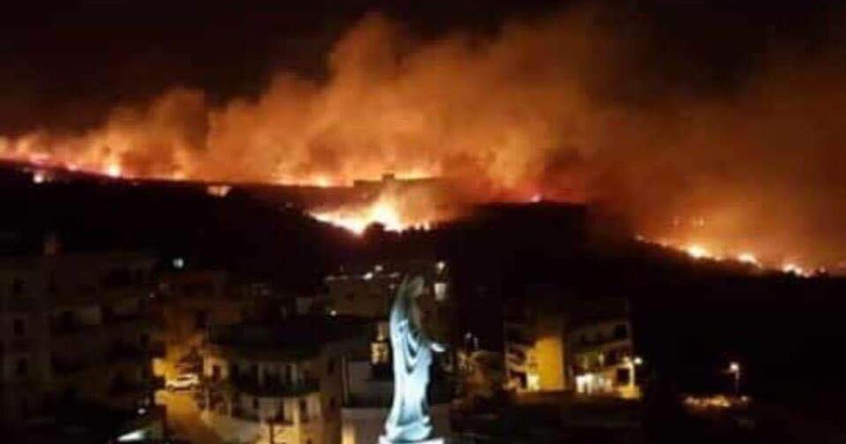 Le Liban victime d'une série de violents incendies inédits