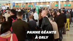 L'aéroport d'Orly paralysé après une panne