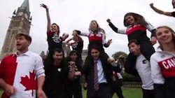 Canadian Politicians, Olympians Dance To