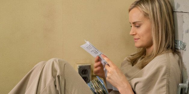Taylor Schilling as Piper Chapman in Season 2 of 'Orange Is The New Black.'