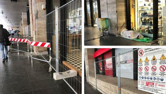 """NEL DEGRADO DI ROMA - Blitz di polizia e finti cantieri per """"bonificare"""" la Stazione Termini dai senza tetto (di L."""