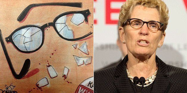 The Toronto Sun sparked controversy Thursday with a controversial cartoon mocking Ontario Liberal Leader...