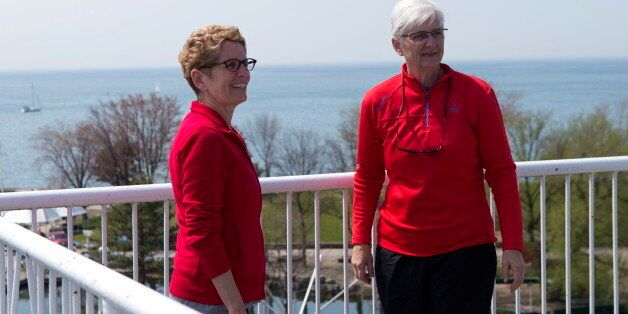 Ontario Liberal Leader Kathleen Wynne opened up Friday about how the Charter of Rights and Freedoms has meant she can live