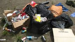 Debris Left At B.C. Campsites Includes Skinned