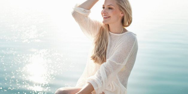 Woman wearing a summer