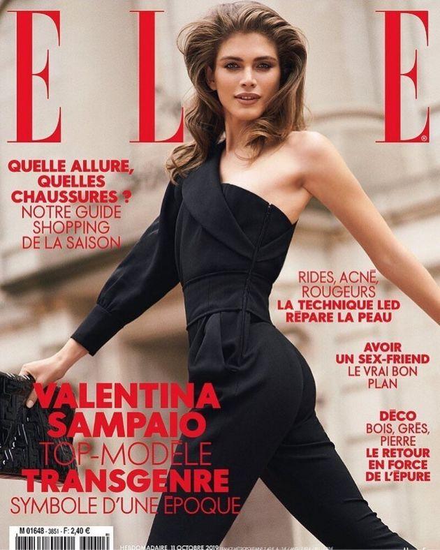 Valentina Sampaio é estrela da Elle francesa deste