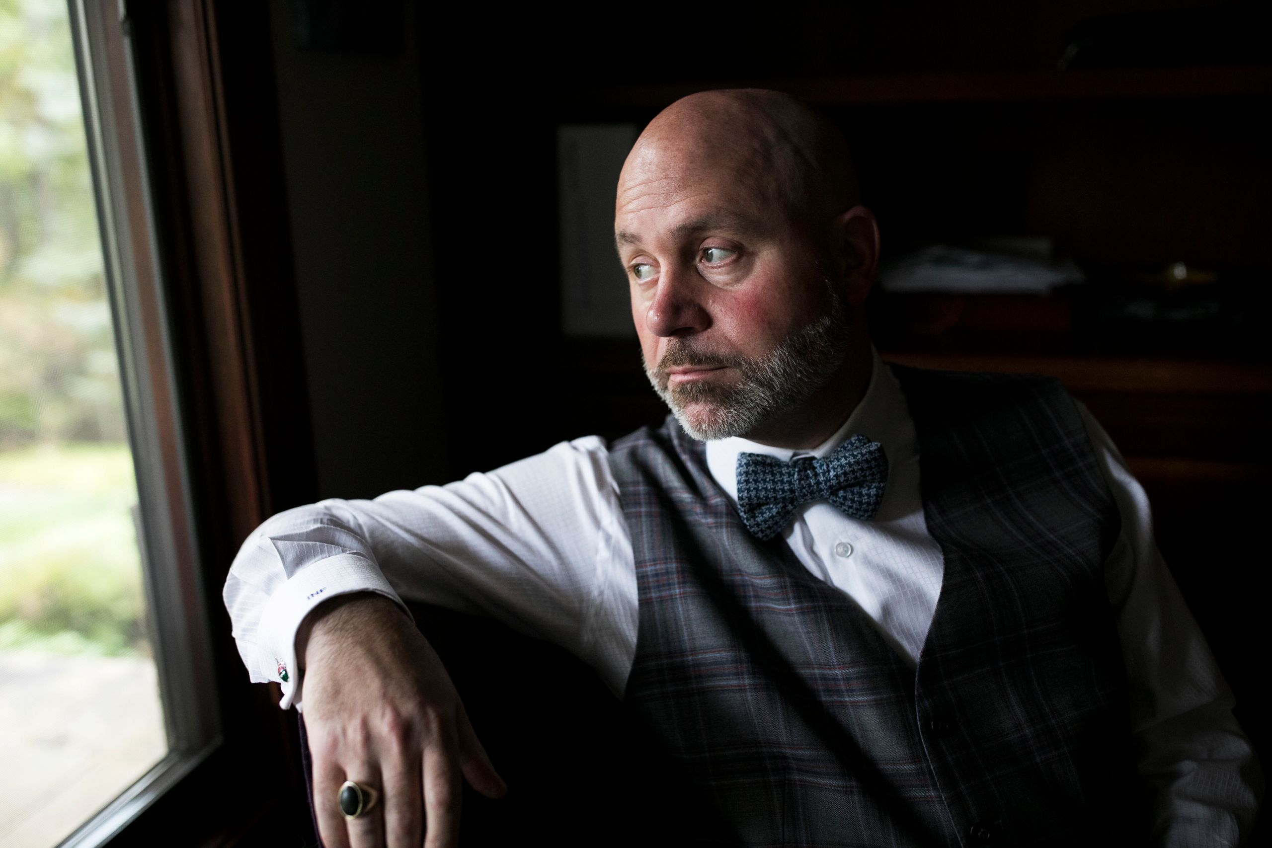 Ian Friedman, the lawyer for Bresha Meadows, in his home in Chagrin Falls, Ohio.