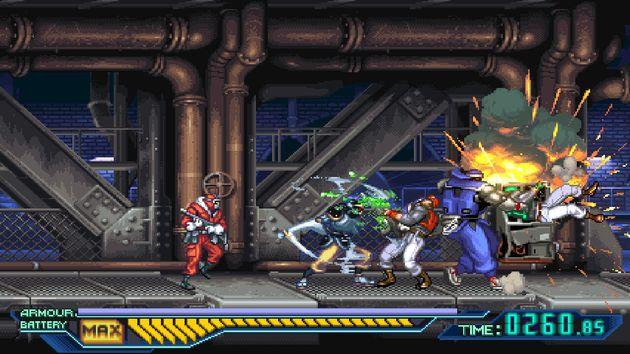 The Ninja Saviors – Return of the Warriors on the Nintendo