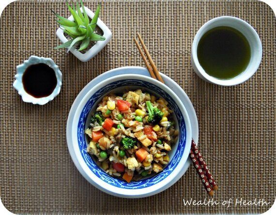 Healthy 'Fried' Rice Is A Great Way To Clear Out Your