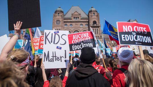 Ontario High School Teachers To Start Strike Votes Next