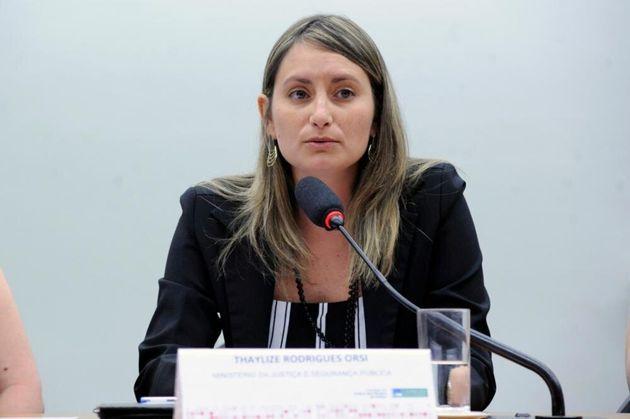 Thaylize Rodrigues Orsi, da Coordenação de Legislação em Segurança...