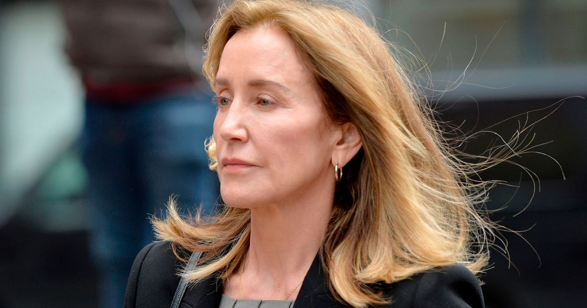 Felicity Huffman Reports To Prison In College Bribery Scandal