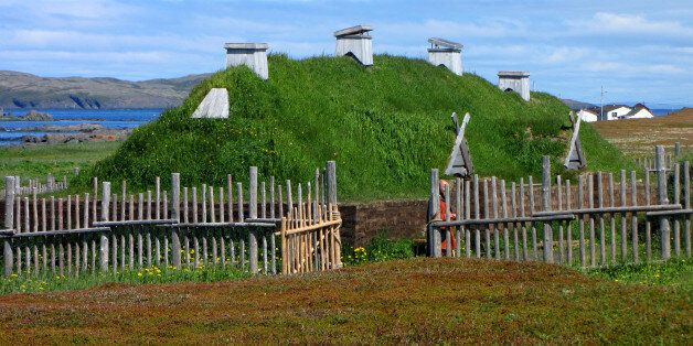 L'Anse aux Meadows is an archaeological site on the northernmost tip of the island of Newfoundland in...