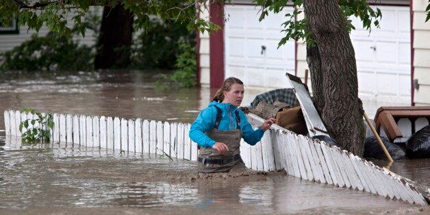 Computer Model Forecast Flooding In Calgary 10 Days Before