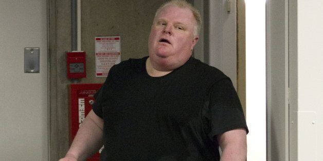 Rob Ford believes everything will work out fine — if he can just lose enough weight. (CP)