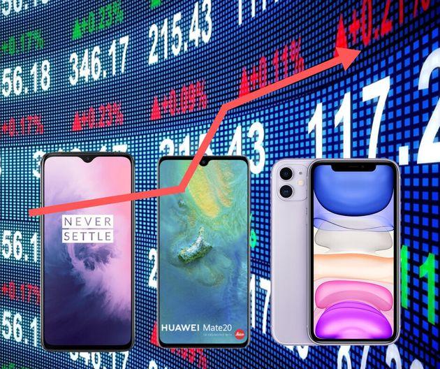 Un mois avant le Black Friday, le prix moyen d'un smartphone augmente de