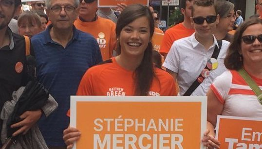 NDP Candidate Says 'Inappropriate' Campaign Email Was Sent By