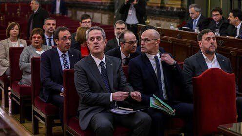 Los políticos condenados en el juicio del