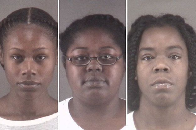 Tonacia Yvonne Tyson, Taneshia Deshawn Jordan and Marilyn Latish McKey