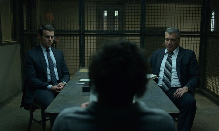"Jonathan Groff, Oliver Cooper and Holt McCallany in ""Mindhunter"""