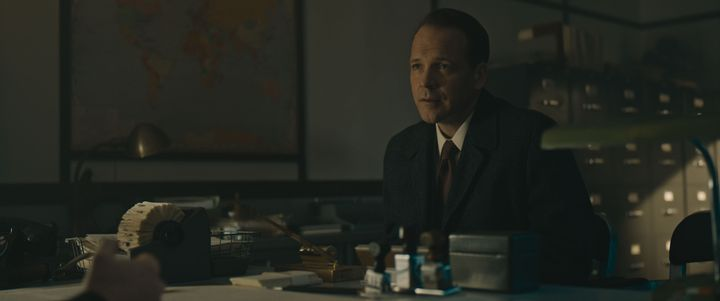 "Peter Sarsgaard in ""Wormwood"""