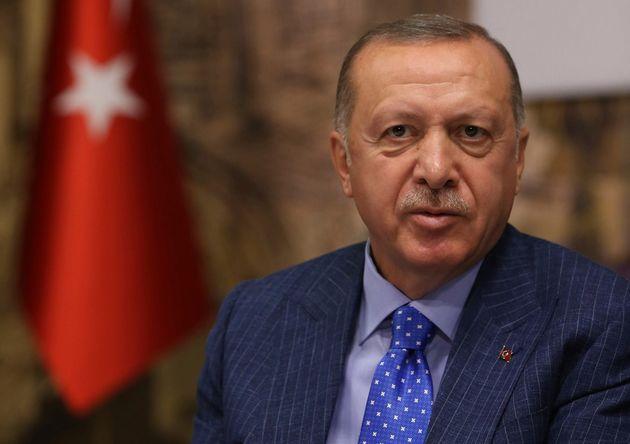 Recep Tayyip Erdogan, ici le 13 octobre, a rejeté la médiation américaine pour un...