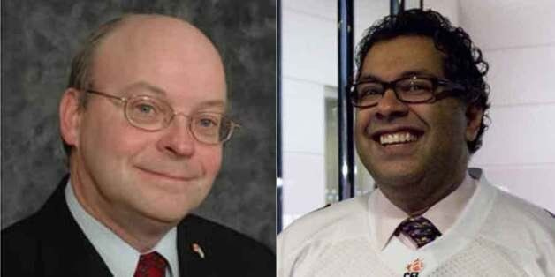 Calgary mayoral candidate Larry Heather took on Naheed Nenshi's faith during and all-candidates'
