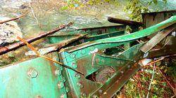 箱根登山鉄道、台風19号で陸橋が崩落。紅葉の盛りを前に「年内の復旧は困難」