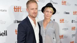 Robin Wright Cuddles With Younger Boyfriend At