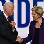 Democratic Candidates Turn Fire On New Front-Runner Elizabeth