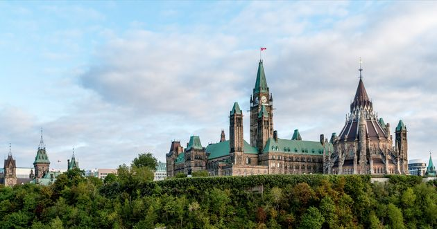Canada's parliament building in
