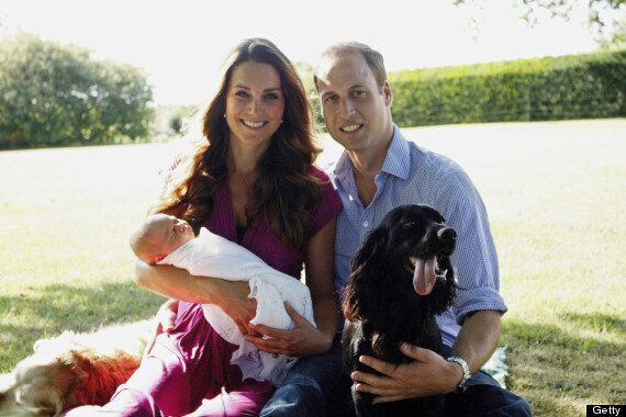 Royal Baby Photo Leaked: Kate Middleton, Prince William Hold Prince George In New Pic