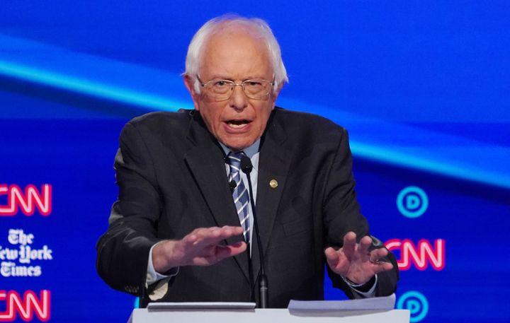 Bernie Sanders Demonstrated His Health In The Ohio Debate