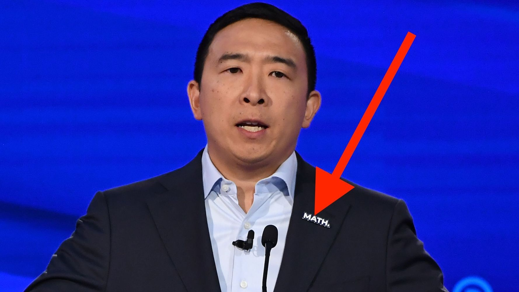 Surprise Star Of The Democratic Debate Was On Stage, But Never Said A Word