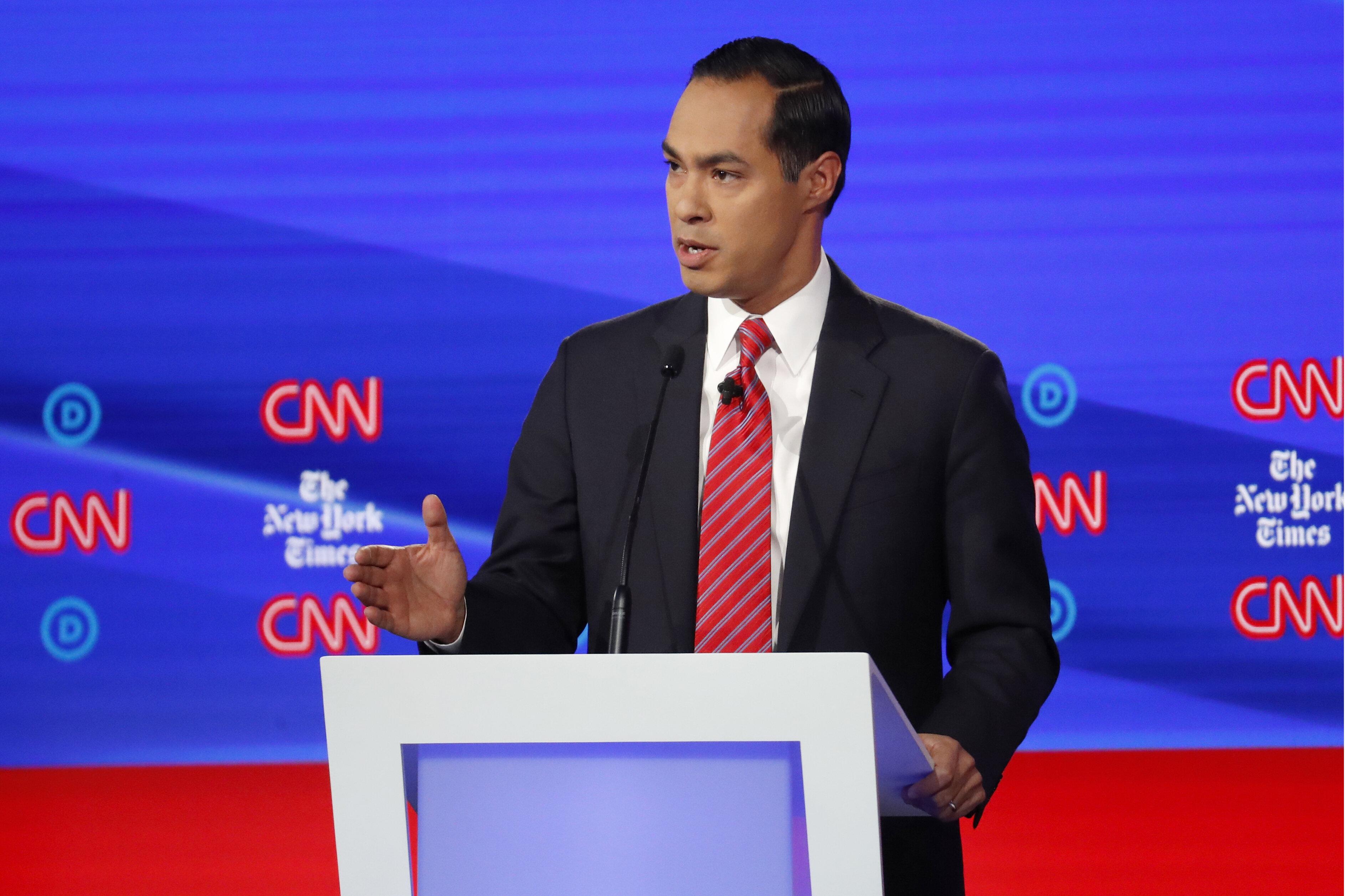 Julián Castro Says Tackling Gun ...