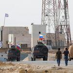 미국이 떠난 시리아 북부에 러시아군이