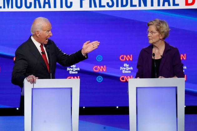 Joe Biden et Elizabeth