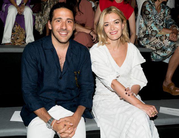 Carlos Torretta y Marta Ortega, en el desfile de Roberto Torretta en la Mercedes Benz Fashion Week Spring/Summer...